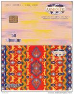 ARMENIA(chip) - Carpets 2/Zangezur, CN : 0061, Used - Armenië