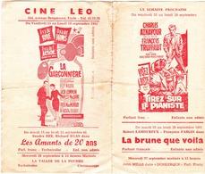 """Uccle  Ciné  """"Léo"""" Et """"Alfa"""" - Programs"""