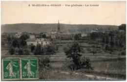 39 SAINT-JULIEN-sur-SURAN - Vue Générale - La Combe - France