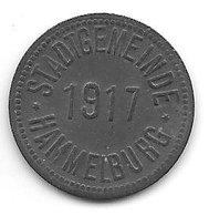 *notgeld Hammelburg 10 Pfennig 1917  Zn  5870.2/f192.2a - [ 2] 1871-1918 : Empire Allemand