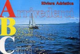 Riviera Adriatica - Arrivederci Baci Cari - Formato Grande Viaggiata – E 13 - Italie