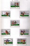 COOK 1981  - CAMPEONATO DEL MUNDO DE FUTBOL ESPAÑA'82 - YVERT Nº 651/658** - 1982 – Espagne