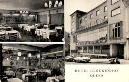 Hotel Glockenhof - Olten - 3 Bilder - Werbekarte - SO Solothurn