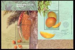 Argentine, Bloc De Fruits, Exposition Philanthique De Singapour - Blocks & Kleinbögen