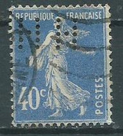 Timbre France Type Semeuse Fond Plein Yvt 237 Perforé HH - 1871-1875 Ceres