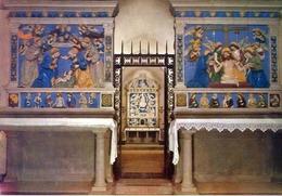 Santuario Della Verna - Arezzo - Cappella Di S.michele Degli Angeli - Interno - Formato Grande Viaggiata – E 13 - Arezzo