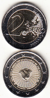GREECE - 70 Years From The Union Of The Dodecanese With Greece 1948-2018, 2 Euro Coin 2018, Unused - Griechenland