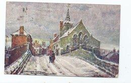 Postcard Yorkshire York St. Williams Chapel Nd Briggate Posted 1908 Russian Poland - York