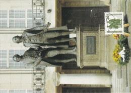 Carte Maximum Littérature  Allemagne Goethe Et Schiller - [7] Federal Republic