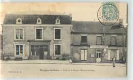 32551 - MARTIGNY LES BAINS - CAFE DE LA POSTE / BUREAU DE POSTE - Non Classés