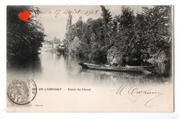 02699-LE-46-ILE DE CABESSUT-Entrée Du Chenal-----------animée-barque - Other Municipalities