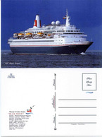"Ship Postcards - Passenger   Ship "" Black Watch    ""    Read Description - Non Classificati"