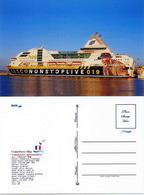 """Ship Postcards - Passenger   Ship """" Napoleon Bonaparte    """"    Read Description - Non Classificati"""