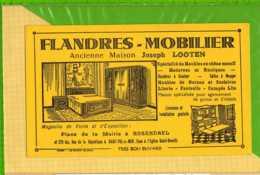 Buvard & Blotting Paper : Flandres Mobilier Joseph LOOTEN    ROSENDAEL - Produits Ménagers