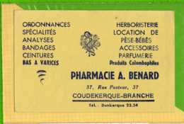 Buvard & Blotting Paper : Pharmacie A. BENARD Pese Bebes COUDEKERQUE BRANCHE - Chemist's