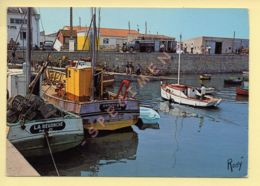 85. ILE DE NOURMOUTIER – L'Herbaudière / Un Coin Du Port Près De La Jetée (animée) (voir Scan Recto/verso) - Ile De Noirmoutier