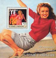 S. TOME & PRINCIPE 2003 - Marlyn Monroe S/s - Sao Tome And Principe