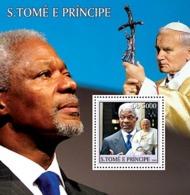 S. TOME & PRINCIPE 2003 - Celebrities S/s - Sao Tome Et Principe