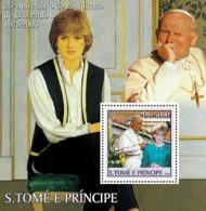 S. TOME & PRINCIPE 2003 - Celebrities S/s - Sao Tome And Principe