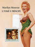 S. TOME & PRINCIPE 2004 - Marilyn Monroe S/s - YT BF304,  Mi BL.518 - Sao Tome And Principe