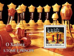 S. TOME & PRINCIPE 2004 - Chess S/s - YT BF313 ,  Mi BL.515 - Sao Tome And Principe