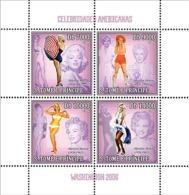 S. TOME & PRINCIPE 2006 - American Celebrities (Marilyn Monroe) 4v - YT 2006-2009,  Mi 2719-2722 - Sao Tome And Principe