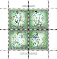 S. TOME & PRINCIPE 2006 - Germany 2006 - European Football Stars 4v - YT 2018-2021,  Mi 2743-2746 - Sao Tome And Principe