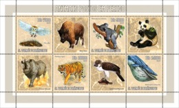 S. TOME & PRINCIPE 2006 - Endangered Animals 4v - YT 2046-2049,  Mi 2794-2797 - São Tomé Und Príncipe