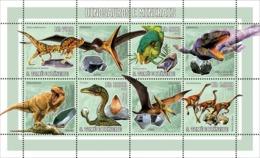 S. TOME & PRINCIPE 2006 - Prehistoric Animal & Minerals 4v - YT 2050-2053,  Mi 2769-2772 - Sao Tomé E Principe