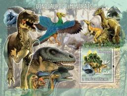 S. TOME & PRINCIPE 2006 - Prehistoric Animal & Minerals S/s - YT 332,  Mi 2773/BL.542 - Sao Tome And Principe
