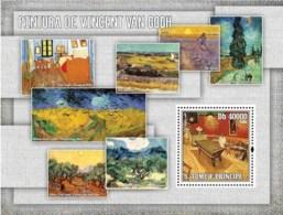S. TOME & PRINCIPE 2006 - Paintings Of Van Gogh S/s - YT 338,  Mi 2848/BL.553 - Sao Tome And Principe
