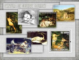 S. TOME & PRINCIPE 2006 - Paintings Of Courbet S/s - YT 342,  Mi 2847/BL.552 - Sao Tomé E Principe