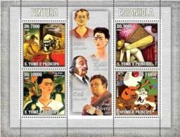 S. TOME & PRINCIPE 2006 - Spanish Paintings 4v - YT 2102-2105,  Mi 2840-2843 - Sao Tome En Principe