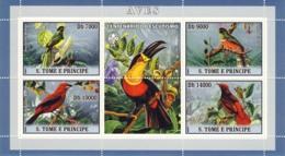 S. TOME & PRINCIPE 2007 - Birds I 4v - YT 2210-2213,  Mi 3028-3031 - Sao Tome And Principe