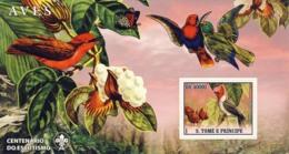 S. TOME & PRINCIPE 2007 - Birds I S/s - YT 372,  Mi 3050/BL595 - Sao Tome And Principe
