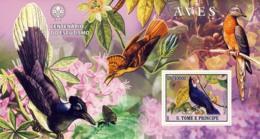 S. TOME & PRINCIPE 2007 - Birds II S/s - YT 373,  Mi 3051/BL596 - Sao Tome And Principe
