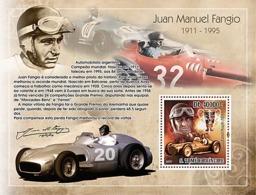 S. TOME & PRINCIPE 2007 - Car Racing - Juan Manuel Fangio S/s - YT 388, Mi 3174/BL617 - Sao Tomé E Principe