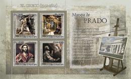 S. TOME & PRINCIPE 2007 - Museum Prado - El Greco 4v - YT 2334-2337, Mi 3138-3141 - Sao Tomé E Principe
