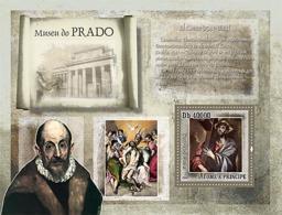 S. TOME & PRINCIPE 2007 - Museum Prado - El Greco S/s - YT 401, Mi 3158/BL611 - Sao Tomé E Principe