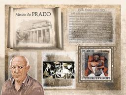 S. TOME & PRINCIPE 2007 - Museum Prado - P. Picasso S/s - YT 403, Mi 3162-BL615 - Sao Tomé E Principe