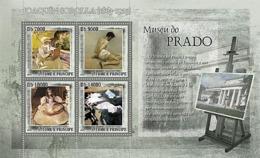 S. TOME & PRINCIPE 2007 - Museum Prado - J. Sorolla 4v - YT 2346-2349, Mi 3150-3153 - Sao Tomé E Principe