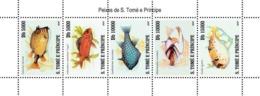 S. TOME & PRINCIPE 2007 - Fish Of Sao Tome 5v - YT 2436-2440, Mi 3204-3208 - Sao Tomé Y Príncipe