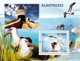 S. TOME & PRINCIPE 2008 - Birds Albatross S/s - YT 439, Mi 3543/BL650 - Sao Tome And Principe