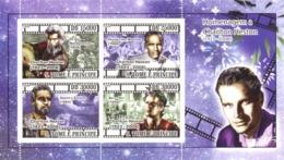 S. TOME & PRINCIPE 2008 - In Memory Charlton Heston (1923-2008), Cinema 4v - YT 3735-3738, Mi 2844-2847 - Sao Tomé E Principe