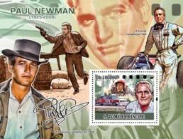 S. TOME & PRINCIPE 2009 - Paintings Of Paul Newman (1925-2008) S/s YT 456, Mi 3836/BL.673 - São Tomé Und Príncipe