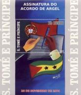 S. TOME & PRINCIPE 2009 - 25th Anniversary Of Argel Treaty S/s - YT 486, Mi 4113/BL.701 - Sao Tome And Principe