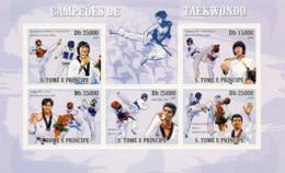 S. TOME & PRINCIPE 2009 - Taekwondo 5v - YT 3182-3186, Mi 4198-4202 - Sao Tome Et Principe