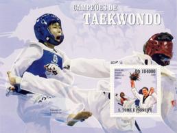 S. TOME & PRINCIPE 2009 - Taekwondo S/s - YT 507, Mi 4203/BL.723 - Sao Tome Et Principe