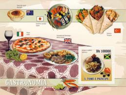 S. TOME & PRINCIPE 2009 - Gastronomic Of World - National Dishes S/s - YT 508, Mi 4185/BL.717 - Sao Tome And Principe