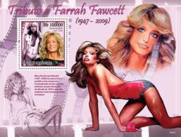 S. TOME & PRINCIPE 2009 - Famous Actress - Farrah Fawcett (1947-2009) S/s - YT 513, Mi 4293/BL.739 - São Tomé Und Príncipe